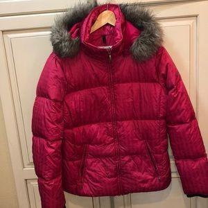 Columbia down puffer parka jacket